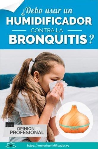 humidificador contra bronquitis